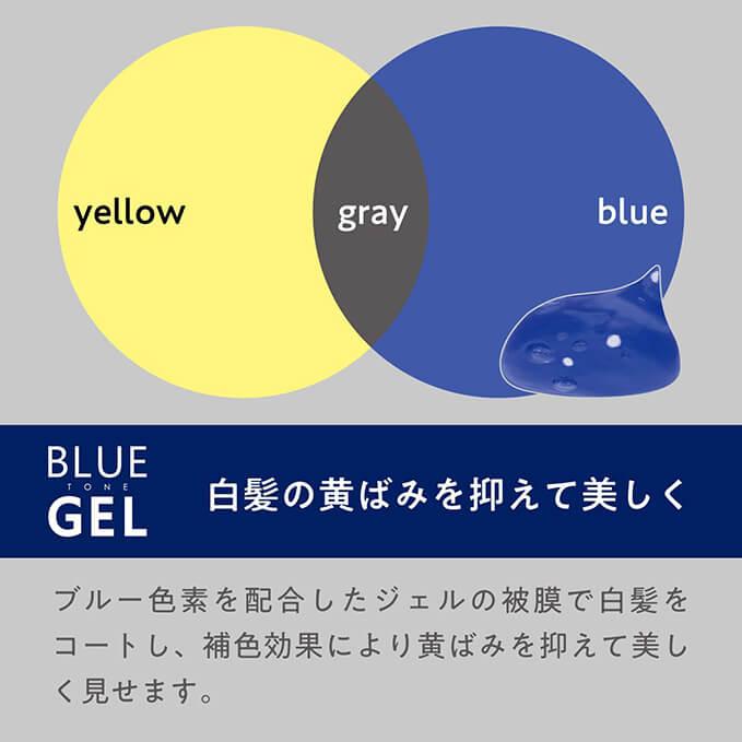 YANAGIYA Blue Tone Hair Gel