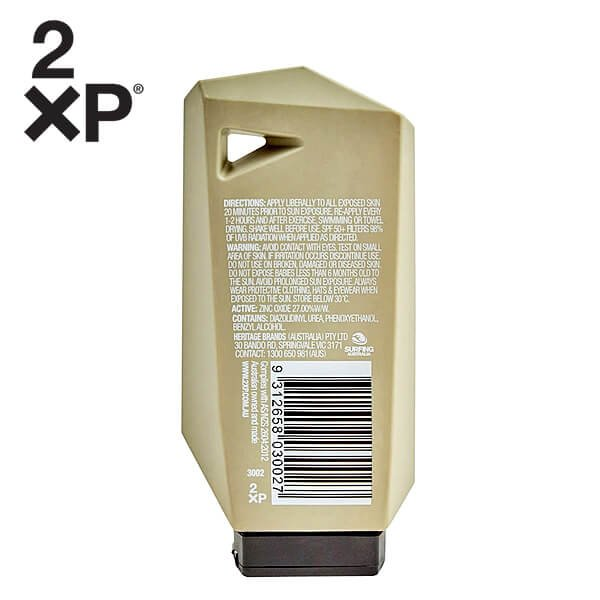 2XP SPF 50+ Protect Face Clear Lotion-02s