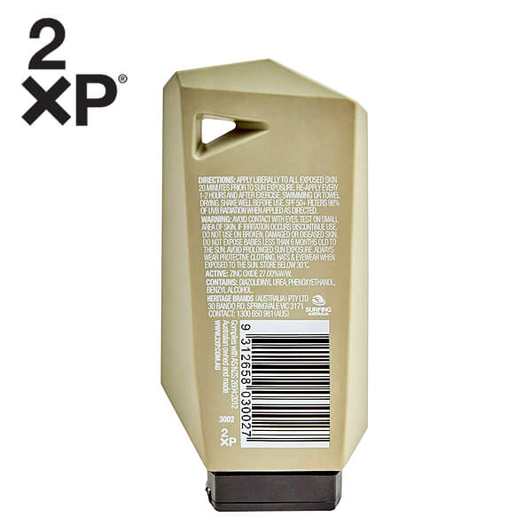 2XP SPF 50+ Protect Face Clear Lotion