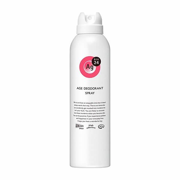 Shiseido Ag Deo24 Age Deodorant Spray(Rose)-01s