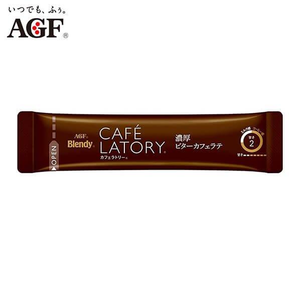 AGF Blendy Cafe Latory Rich Bitter Cafe Latte-02s