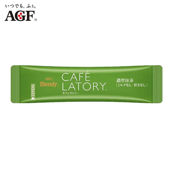 AGF Blendy Cafe Latory Rich Matcha