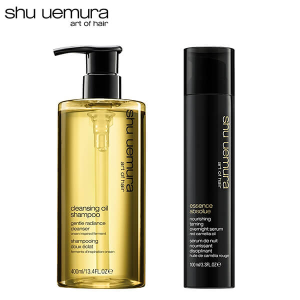 Shu Uemura Cleansing Oil Shampoo Conditioner Set