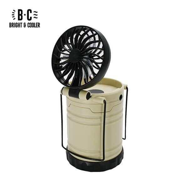 BRIGHT&COOLER LED Light & Fan(Ivory)-03s