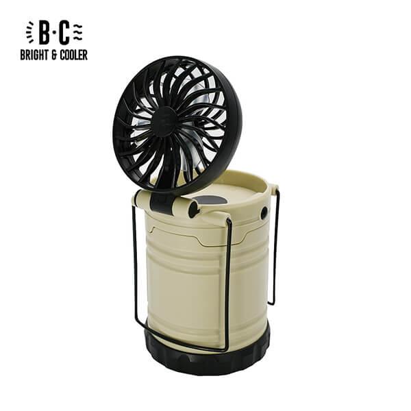 BRIGHT & COOLER LED Light & Fan