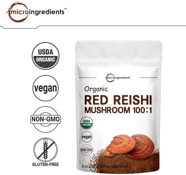 MICRO INGREDIENTS Organic Reishi